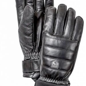 Alpine Leather Primaloft 5-finger sormikas musta