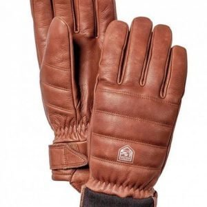 Alpine Leather Primaloft 5-finger sormikas ruskea