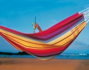 Amazonas Brazilian Barbados riippumatto rainbow