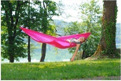 Amazonas Travel Set riippumatto pinkki