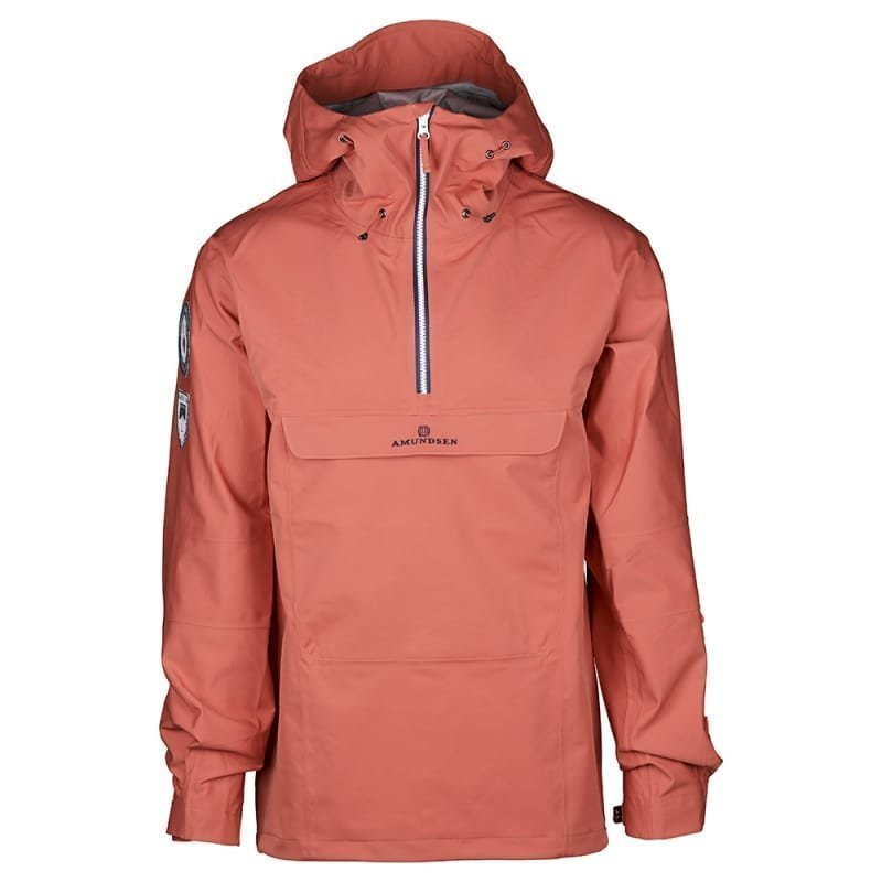 Amundsen Peak Men's Anorak L Weathered Red