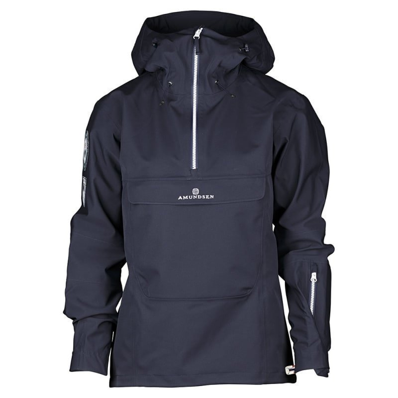 Amundsen Peak Womens Anorak L Faded Navy
