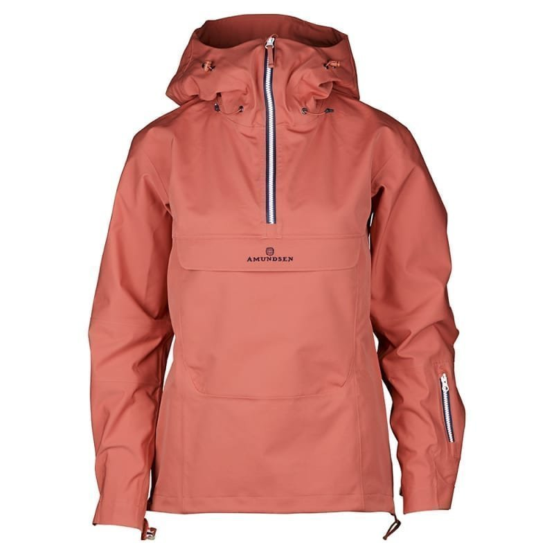 Amundsen Peak Womens Anorak M Weathered Red