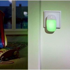 "Ansmann LED Guide ""Ambiente green"" yövalo"