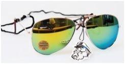 Appertiff aurinkolasit KULTA/KELTAINEN PEILILINSSI