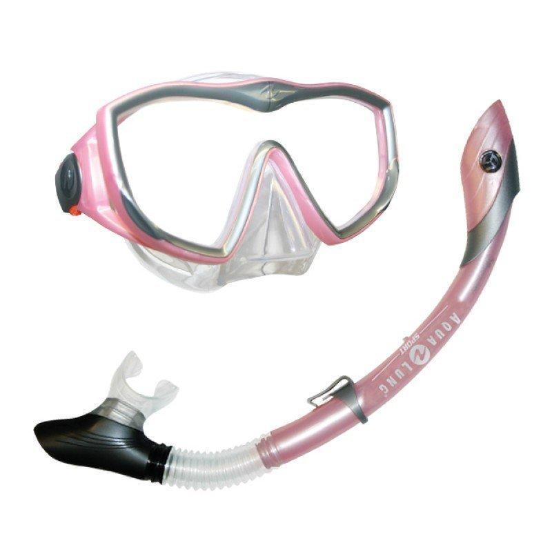 Aqua Sphere DIVA Aikuisten snorklaussetti (silikoni) Pinkki