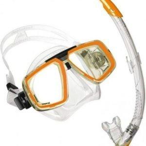 Aqualung Look Sil + Zephyr oranssi
