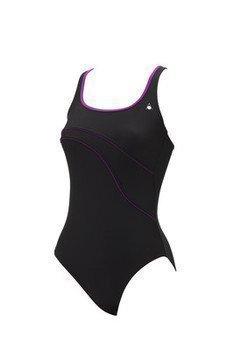 Aquasphere Mylene naisten uimapuku musta/lila