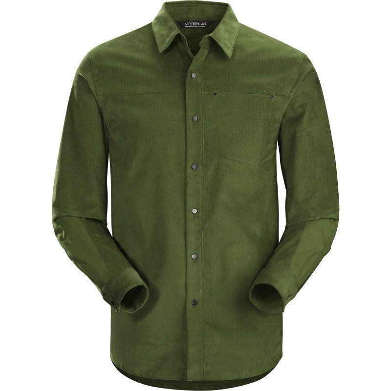 Arc'teryx Merlon LS Shirt Men's S Dark Moss