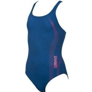 Arena Airflow tyttöjen uima-asu sininen/pinkki
