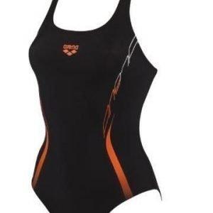 Arena Flex naisten uimapuku Musta/Mango