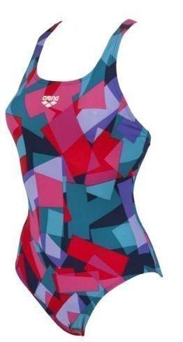 Arena Glassy naisten uimapuku Navy/moniväri