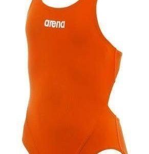 Arena Makinas Jr Vuorella tyttöjen uimapuku oranssi