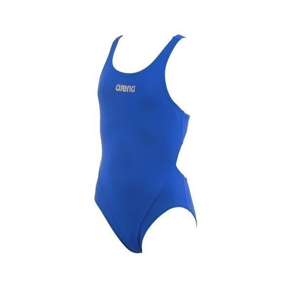 Arena Makinas Youth Jr tyttöjen uimapuku vaalean sininen