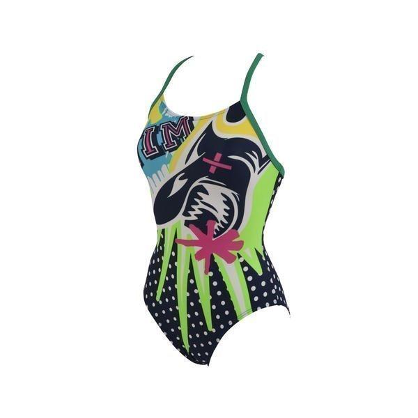 Arena Ocean uimapuku sin/vihr naisten uimapuku