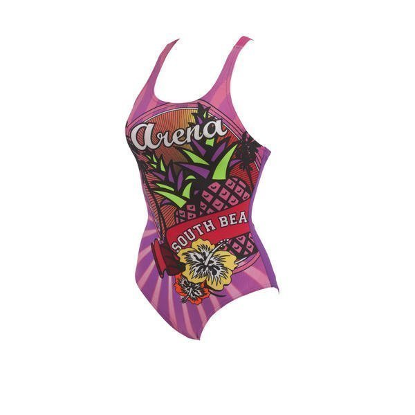 Arena South naisten uimapuku Ananas Lila