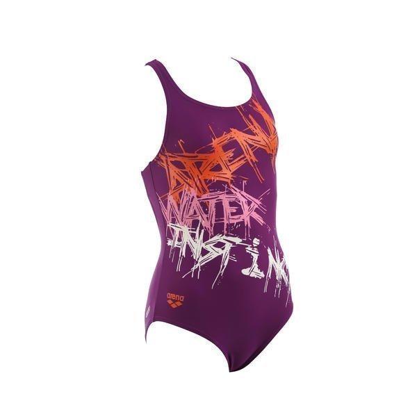 Arena Spray Jr tyttöjen uimapuku violet