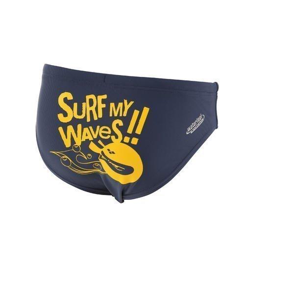 Arena Surfmywaves Jr poikien uimahousut harmaa