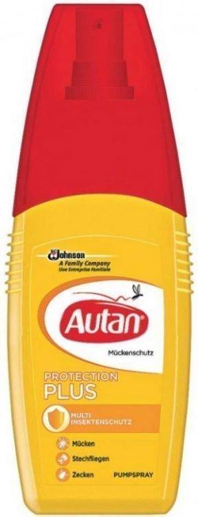 Autan Protection Plus Pump Spray