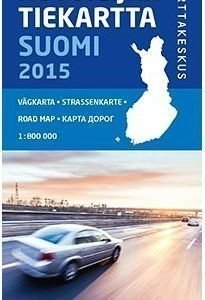 Autoilijan Tiekartta Suomi 2015