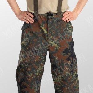 BW Gore-Tex -housut Flecktarn ylijäämä