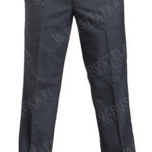 BW suorat housut tummanharmaat käytetyt