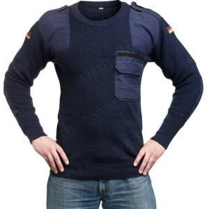 BW villapaita sininen ylijäämä