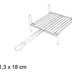 Barbecue grill couble 57x31x18cm matkagrilli
