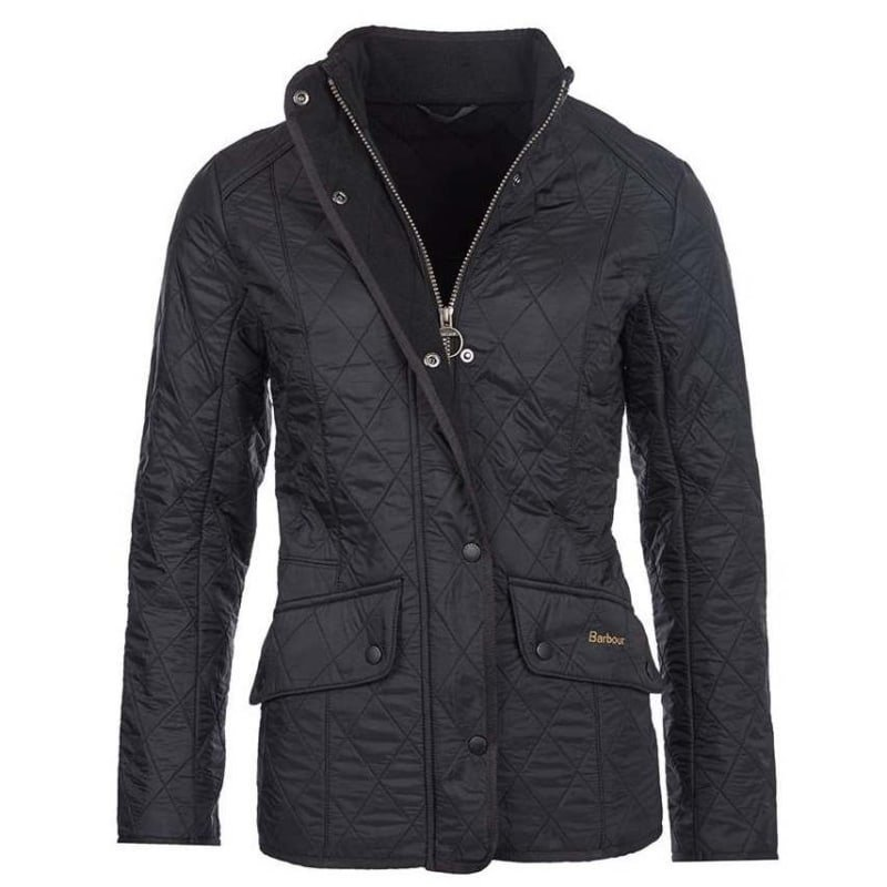 Barbour Cavalry Polarquilt Jacket 10 Black
