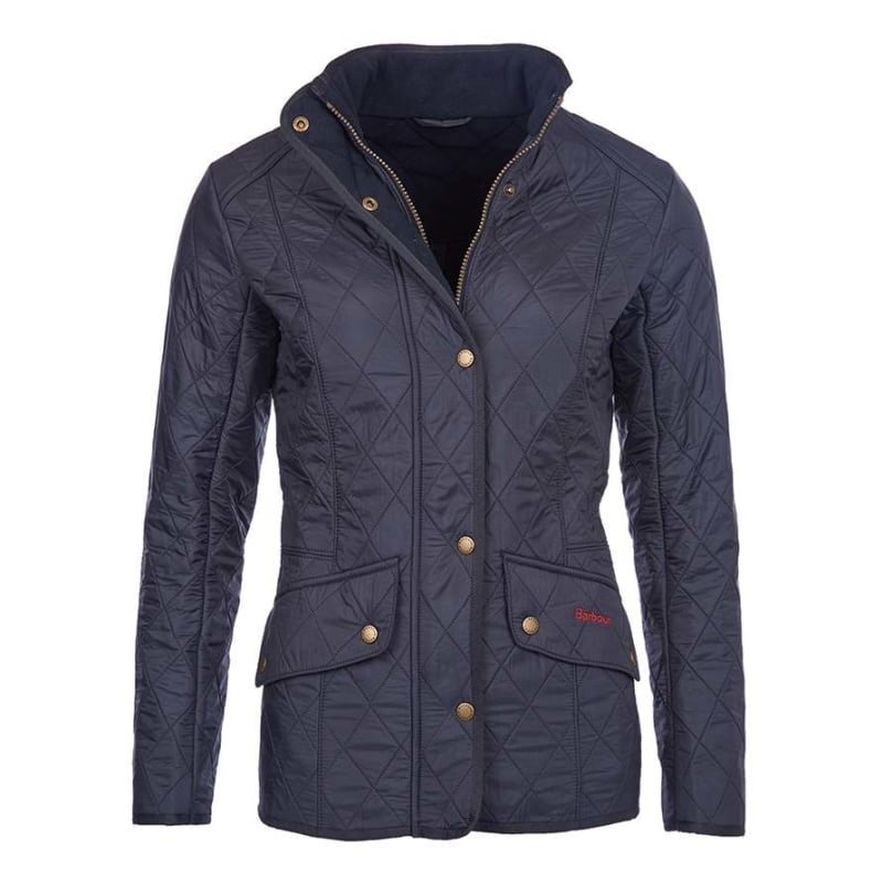 Barbour Cavalry Polarquilt Jacket UK 8 / EU 34 Navy