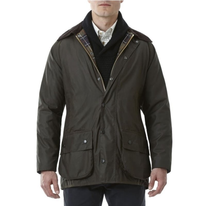 Barbour Classic Beaufort Jacket UK48 / EU58 Dark Olive