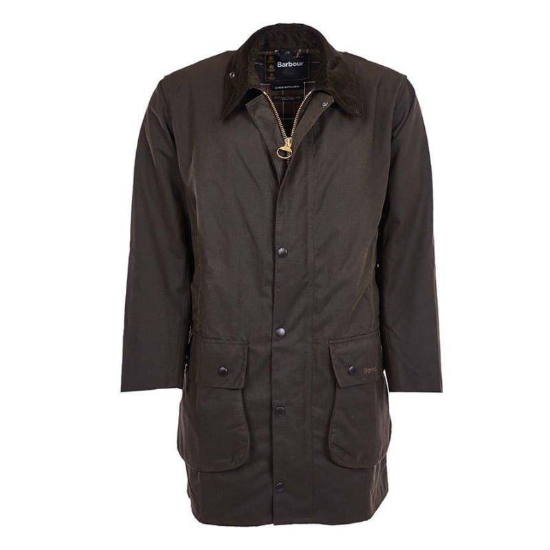 Barbour Classic Northumbria Jacket UK38 / EU46 DK OLIVE