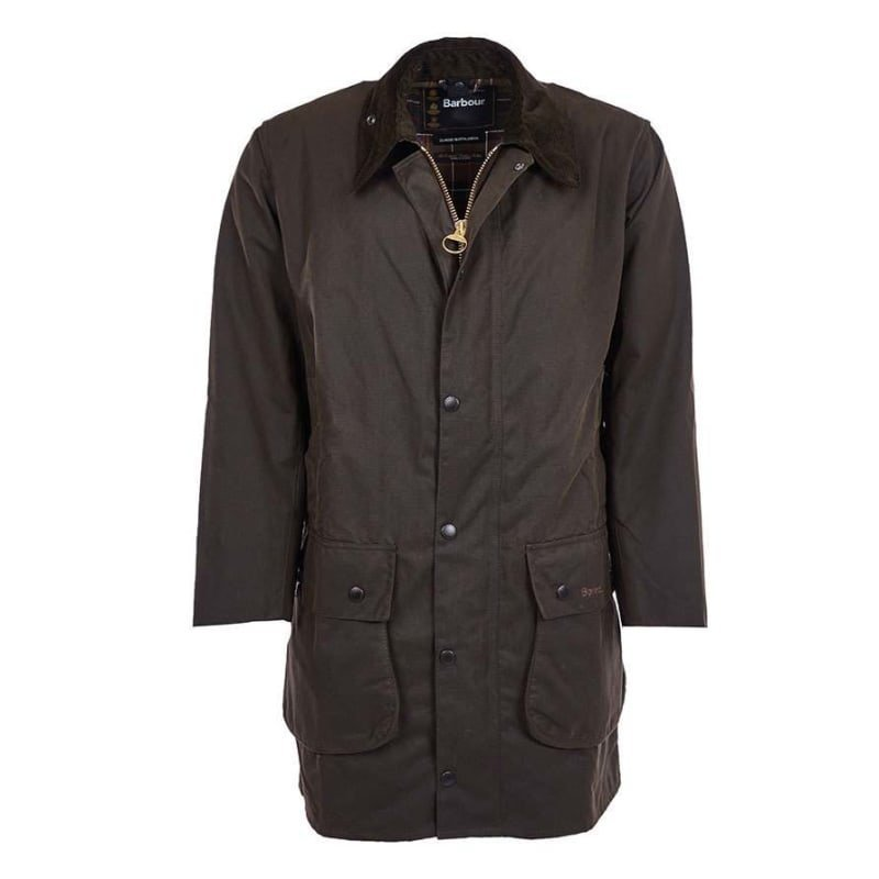 Barbour Classic Northumbria Jacket UK44 / EU54 DK OLIVE