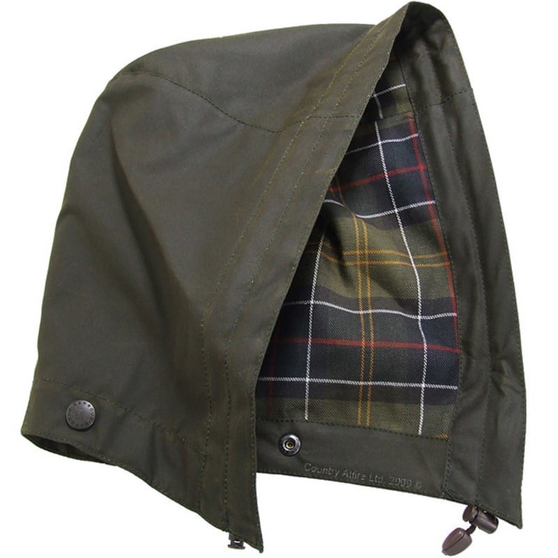 Barbour Classic Sylkoil Hood MW 1SIZE Olive