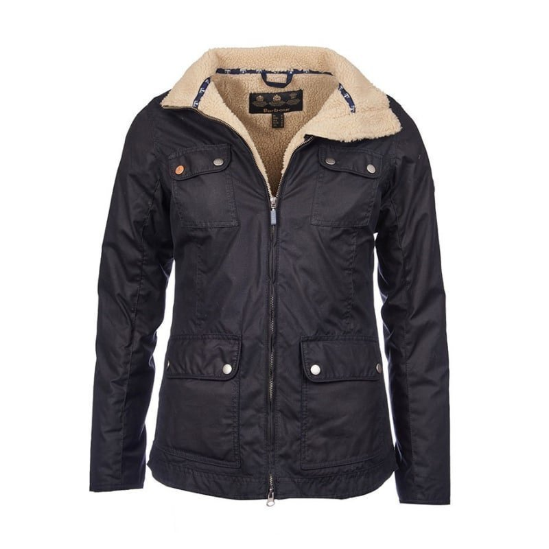 Barbour Howman Wax jacket UK 8 / EU 34 Navy