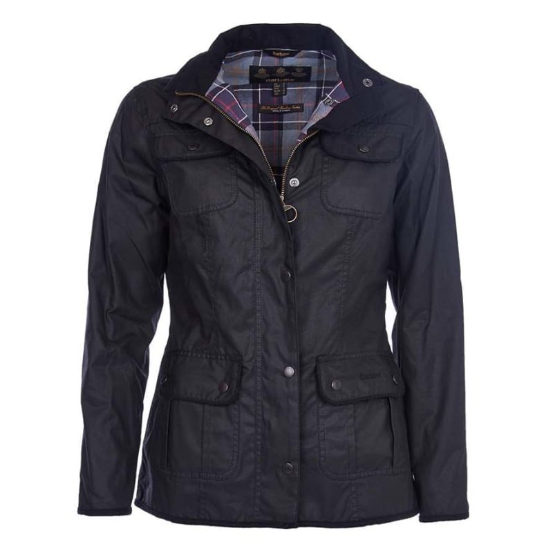 Barbour Ladies Utility Jacket UK 8 / EU34 Black