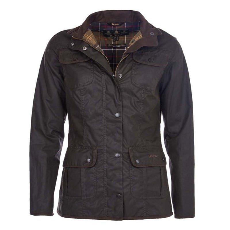 Barbour Ladies Utility Jacket UK 8 / EU34 OLIVE