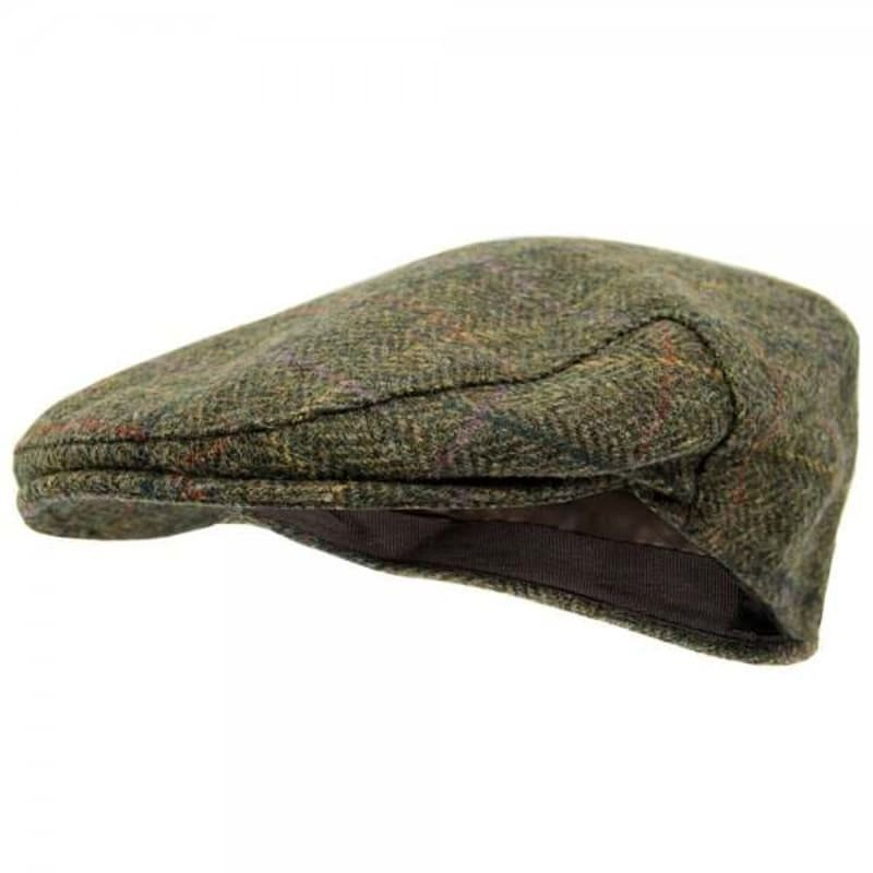 Barbour Moons Tweed Cap 58 OLIVE HERRINGBO