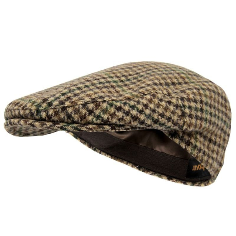 Barbour Moons Tweed Cap Beige Gun Club