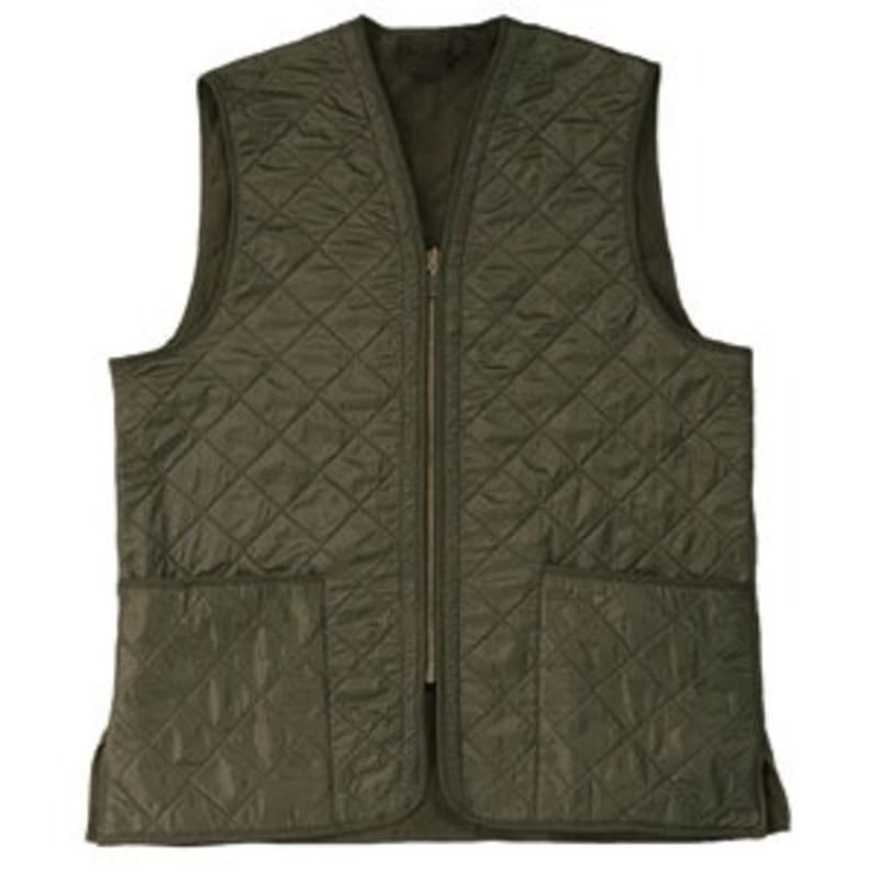 Barbour Polarquilt Waistcoat Zip-In L DK OLIVE