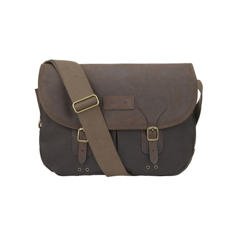 Barbour Wax Leather Tarras 1SIZE Olive