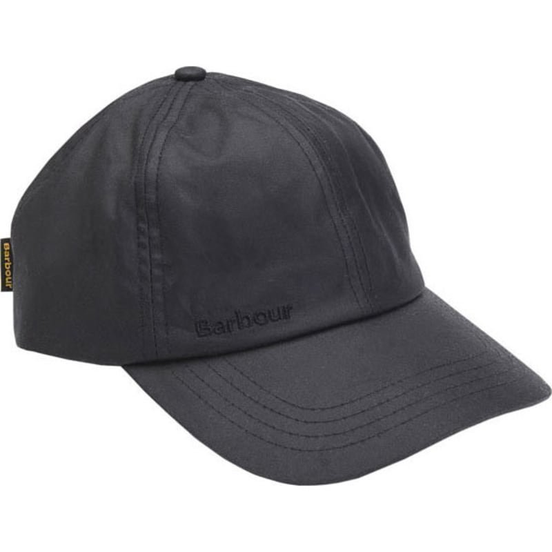 Barbour Wax Sports Cap 1SIZE Black
