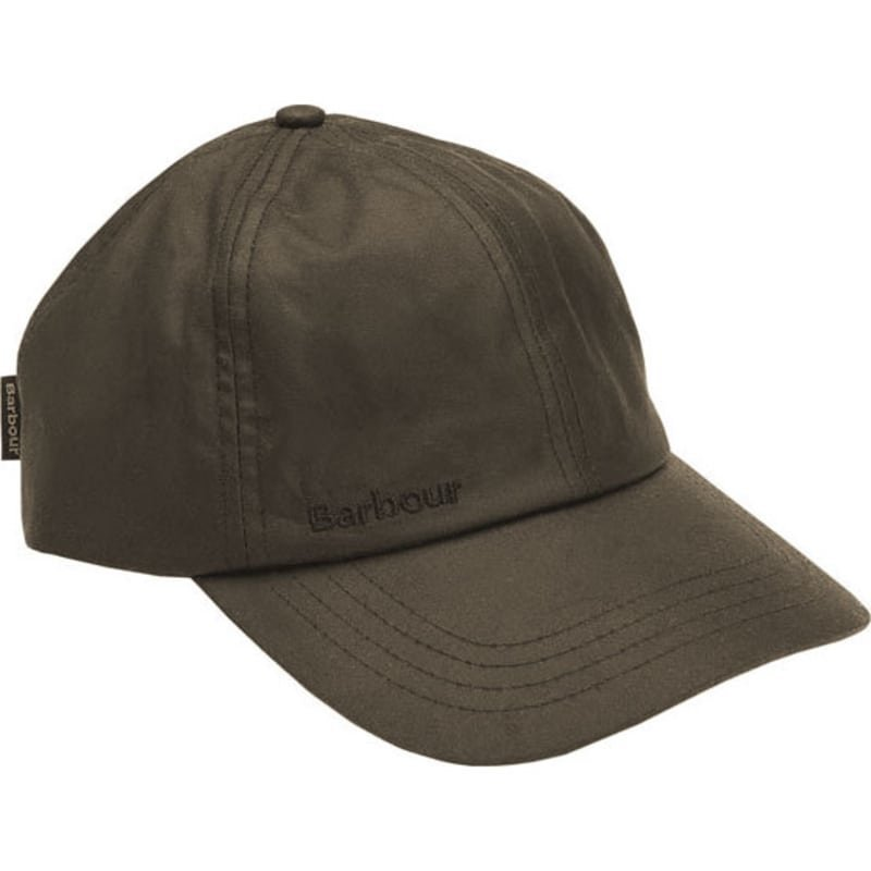 Barbour Wax Sports Cap 1SIZE Olive