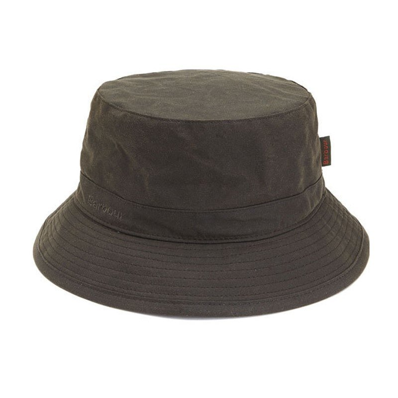 Barbour Wax Sports Hat L Dark Olive