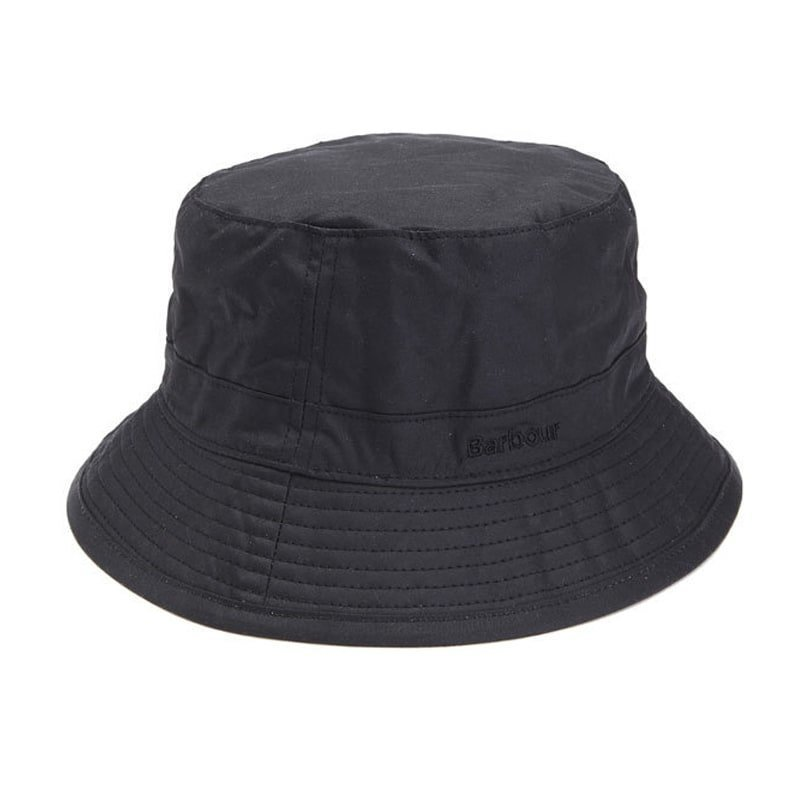 Barbour Wax Sports Hat M Black