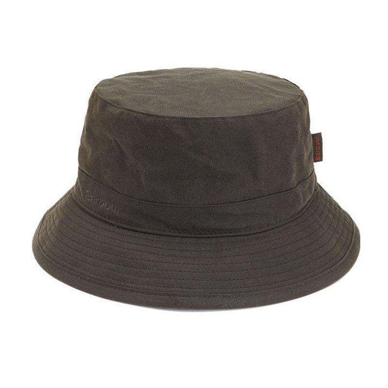 Barbour Wax Sports Hat M Dark Olive