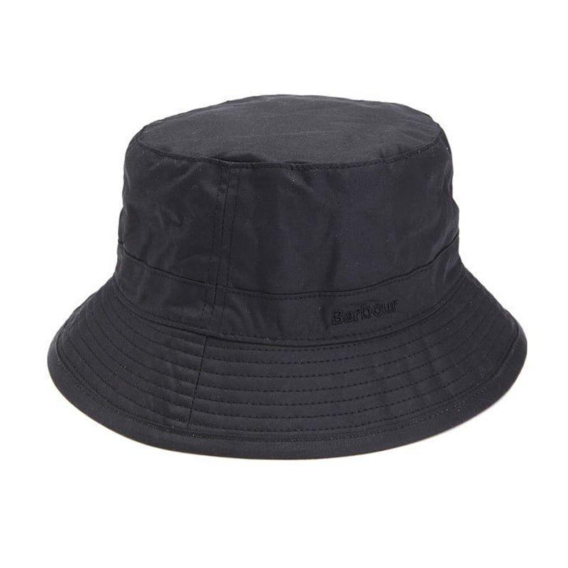 Barbour Wax Sports Hat XL Black
