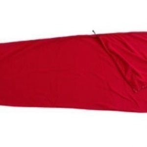 Basic Nature fleece makuupussi punainen