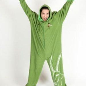 Basic Nature fleece makuupussi/oloasu vihreä