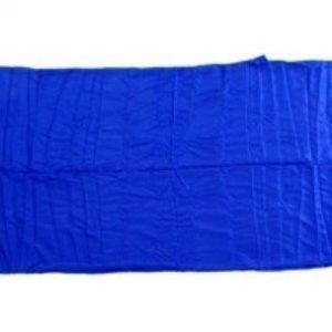 Basic Nature silkkinen makuupussin sisäpussi sininen